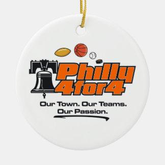 Orange Logo-Verzierung Keramik Ornament
