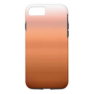 Orange Ombre Aquarell iPhone 8/7 Hülle