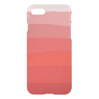 Orange Ombre klarer iPhone Kasten iPhone 7 Hülle