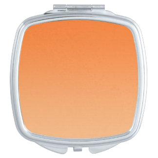 Orange Ombre Schminkspiegel