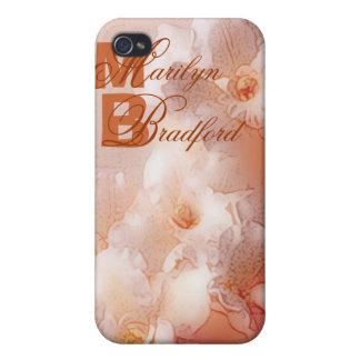orange Orchidee träumt personalizable b iPhone 4 Schutzhülle