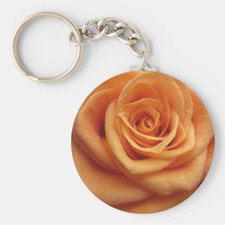 Orange Rose Schlüsselanhänger