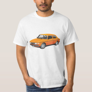 Orange SAABS 99 T-Shirt