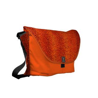 Orange Schalen-Rickshaw-Bote-Tasche Kuriertasche