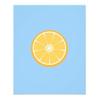 Orange Scheibe 11,4 X 14,2 Cm Flyer