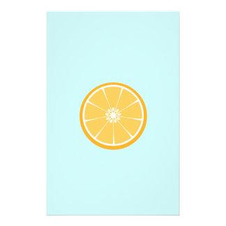 Orange Scheibe 14 X 21,6 Cm Flyer