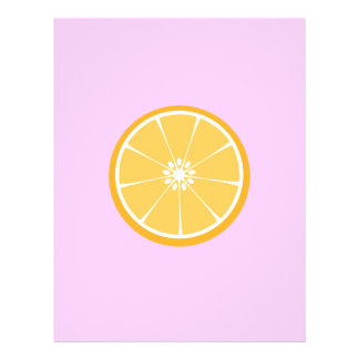 Orange Scheibe 21,6 X 27,9 Cm Flyer