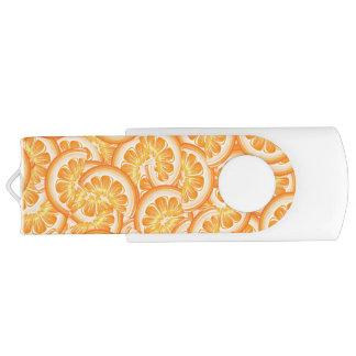 Orange Scheibe USB-Antrieb Swivel USB Stick 2.0