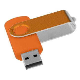Orange Schwenker USB-Blitz-Antrieb USB Stick