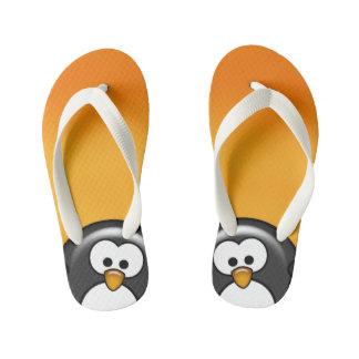 Orange semi-transparente de pingouin