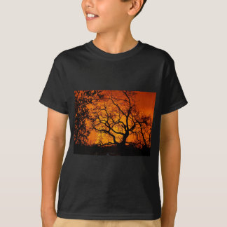 Orange Sonnenuntergang T-Shirt