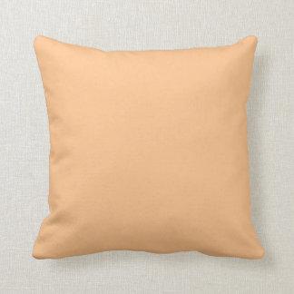 Orange Sorbett-Farbe Kissen