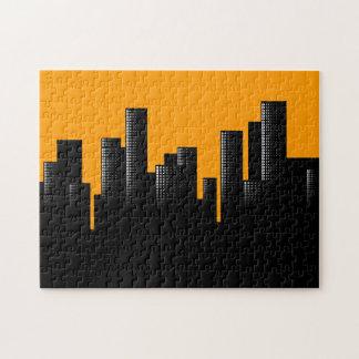 orange Stadtbild