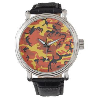 Orange Tarnung Uhr
