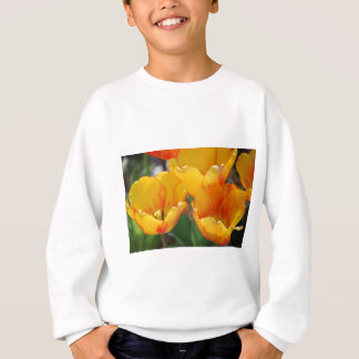 Orange Tulpen Sweatshirt