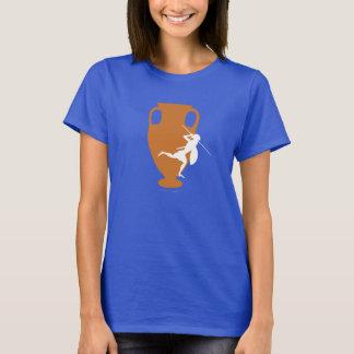 Orange und weißes Logobild des Spektrums T-Shirt