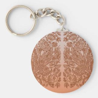 Orange Verzierungen Schlüsselanhänger