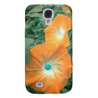 Orange Winden iPhone 3 Kasten Galaxy S4 Hülle