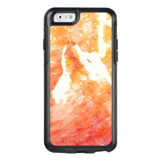 Orange Wolf iPhone 6/6s Otterbox Kasten OtterBox iPhone 6/6s Hülle