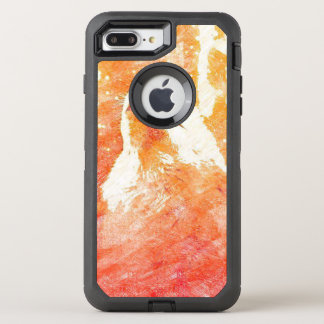 Orange Wolf iPhone 7 PlusOtterbox Fall OtterBox Defender iPhone 7 Plus Hülle