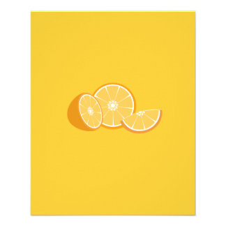 Orangen 11,4 X 14,2 Cm Flyer