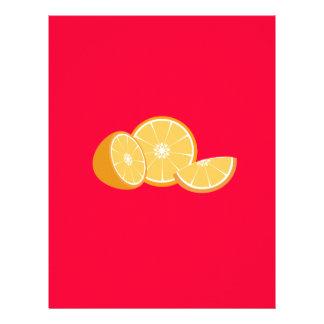 Orangen 21,6 X 27,9 Cm Flyer