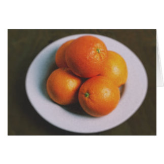 Orangen Karte
