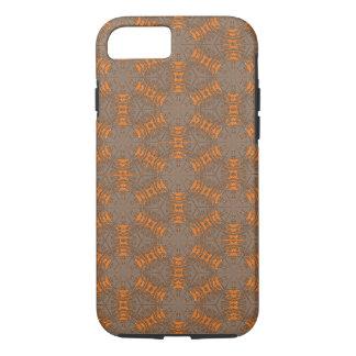Orangen-und Mokka-Brown iPhone 7 Fall iPhone 8/7 Hülle