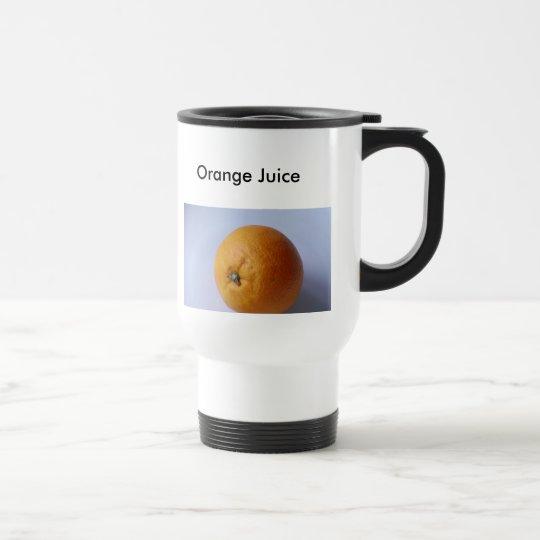 Orangensaft, Orangensaft Reisebecher