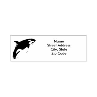 Orca-Adressen-Briefmarke, Permastempel