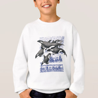 Orca-Vintage Karte II Sweatshirt