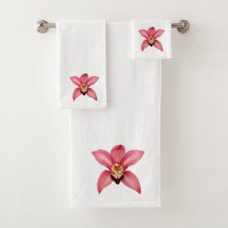 Orchidee Badhandtuch Set