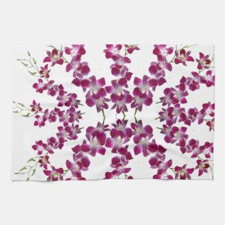 ORCHIDEE: Cymbids goldene Duschen-Blume Handtuch