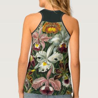 Orchideen Ernst Haeckel, Vintage Regenwald-Blumen Tanktop