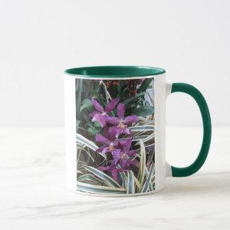 Orchideen-Gruppen-Tasse Tasse