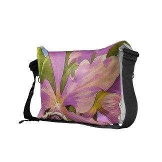 Orchideen-Pop Kuriertaschen