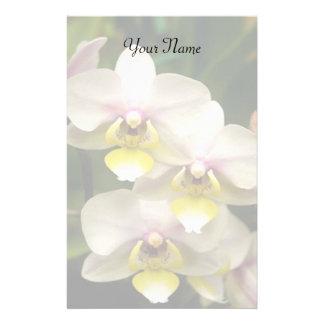 Orchideen stationär briefpapier