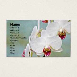 Orchideen Visitenkarte