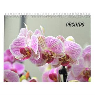 Orchideen Wandkalender