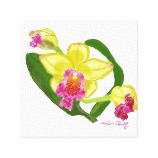 Orchideendruck Leinwanddruck