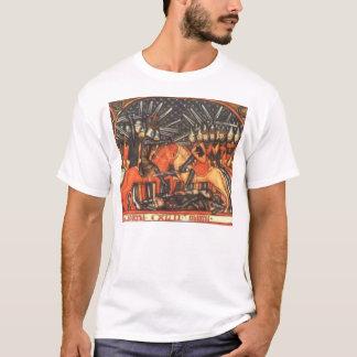 Ordensritter im Kampf gegen Sarazenen T-Shirt