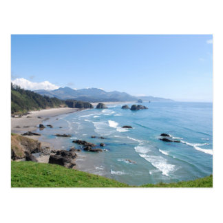 Oregon-Küste Postkarte
