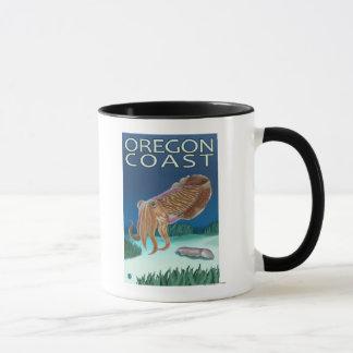 Oregon-Küsten-Kopffüßer Tasse
