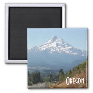Oregon-Reise-Foto Quadratischer Magnet