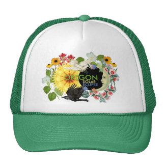 Oregon-Sonnenfinsternis-Fernlastfahrer-Hut Netzmütze