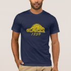 Oregon-Staats-Flaggegrunge-Biber-Salem-Liebe T-Shirt