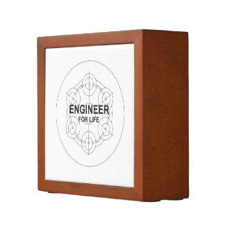 Organiseur De Bureau Ingénieur pendant la vie
