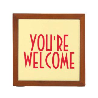 Organiseur De Bureau Vous êtes l'organisateur bienvenu de bureau