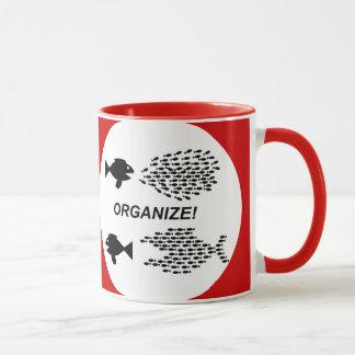 Organisieren Sie Tasse