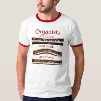 Organisten sind groß! Weckert-stück der Männer Shirt